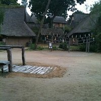 Gaulish village, parc du radome