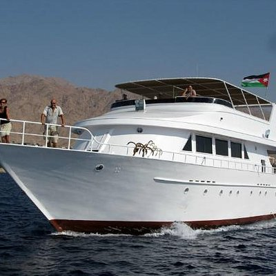 Harmattan, the most comfortable and luxurious diving boat in Jordan