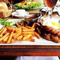 my yummy lunch/breakfast :)
