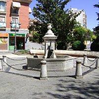 Fuente de los Peces, Móstoles, Madrid.