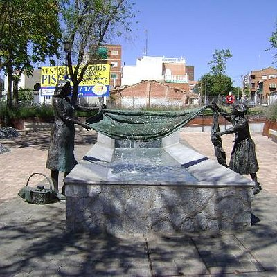 Plaza del Lavadero, Móstoles, Madrid.