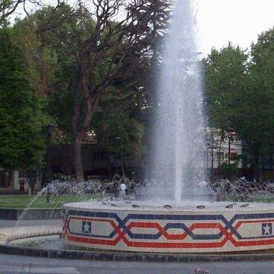 Plaza Chile ,Mendoza