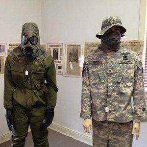 Modern warfare room.