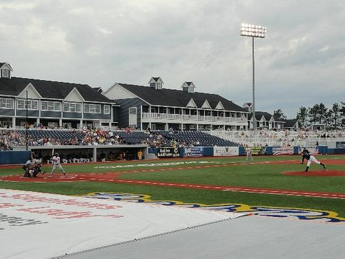 The infield at Wuerfel Park, home of the Traverse City Beach Bums