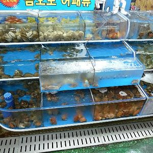 Seafood pick and mix!