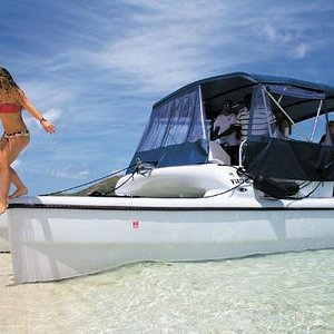 St. Thomas Boat Rental can take you to shore and keep your camera safe and dry!