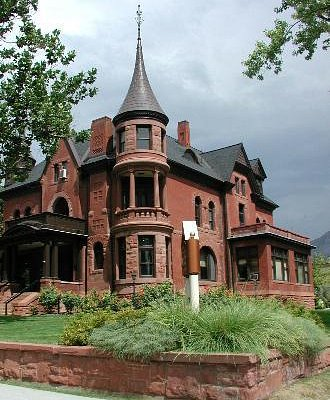 Historic Mansion - Eccles Community Art Center