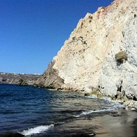 White Beach, Santorini