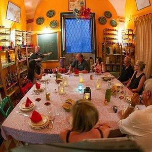 Silvestro Silvestori, teaching Southern Italian wine our school in Lecce