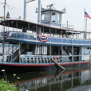 Chautauqua Belle Steamship