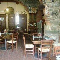 vista dall'entrata, muratura in pietra, rustico, disposizione tavoli