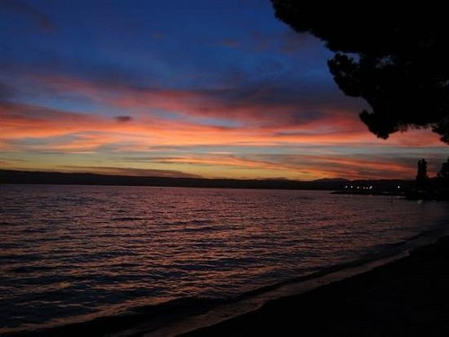 ...der See am Abend....