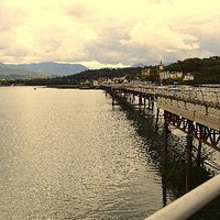 Bangor Pier, looking towards Anglesey