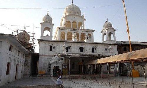 View of the Gurudwara