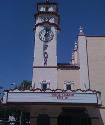 Visalia's Historic Downtown Theater...Merle Haggard 09/19/2012
