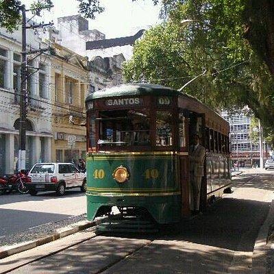 Bonde, Santos, SP