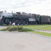 The main locomotive