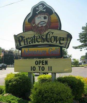 Pirate Cove Entrance