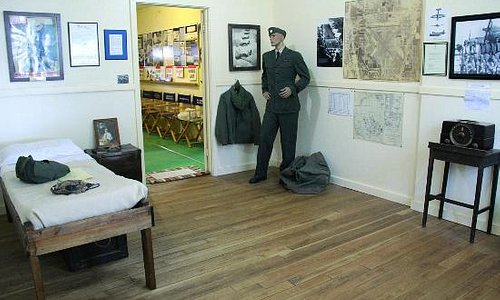 Recreated Barracks Room