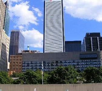 First Canadian Place building from Nathan Philips Square