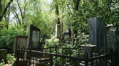 Graves in the Jewish Cemetery