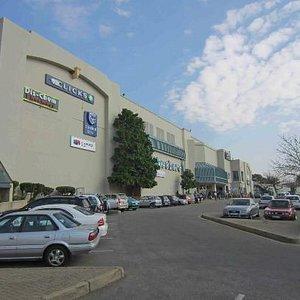 Outside Cresta Shopping Centre