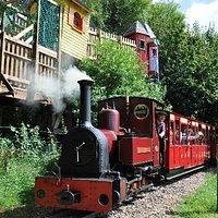 Treehouses Trains and Treasure at Perrygrove