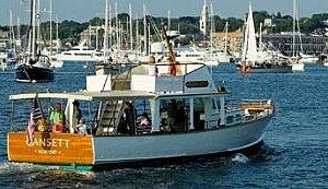 Gansett Cruises in Newport Harbor