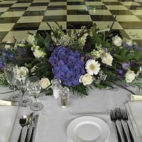 Top table in a marquee