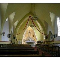 Interior de la catedral- Ushuaia