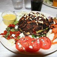 Crab Salad and Mushrooms