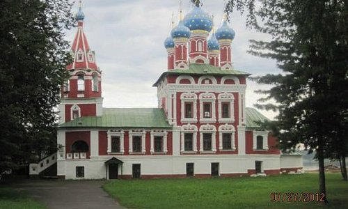 Church of Prince Dimitry-on-Blood, Uglich, Russian Federation.