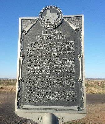 Llano Estacado Texas Sign