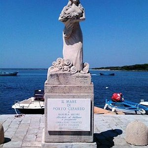 La statua della showgirl