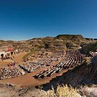 A 2700 seat amphitheatre