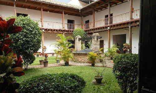 Gallery courtyard