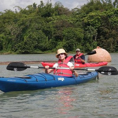 Kayaking tour the Gatun Lake at the Panama Canal