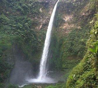 Coban pelangi, ( Rainbow waterfall )