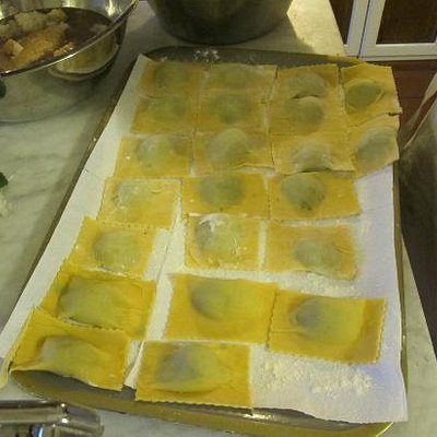 Perfect ravioli