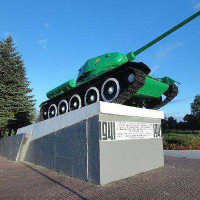 танк на западной стене