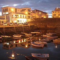 The Harbout Bar, Portrush from across the harbour.