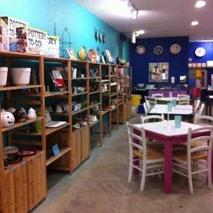 Turn your imagination into reality at Ceramics Bayou!