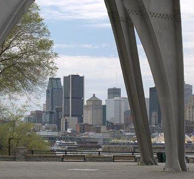 Vue sur Montreal