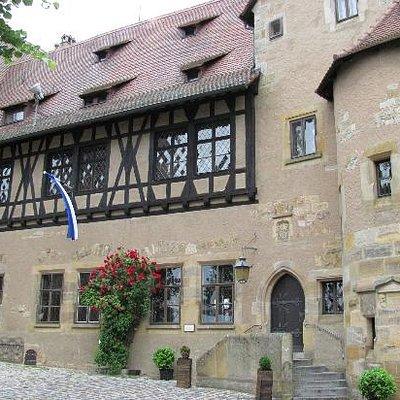 Zeitweise Wohnsitz der Fürstbischöfe von Bamberg