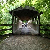 Covered bridge near South Haven, MI.