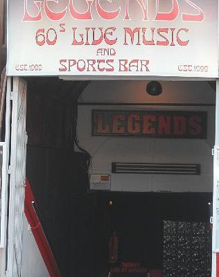 Legends 60's Live Music & Sports Bar