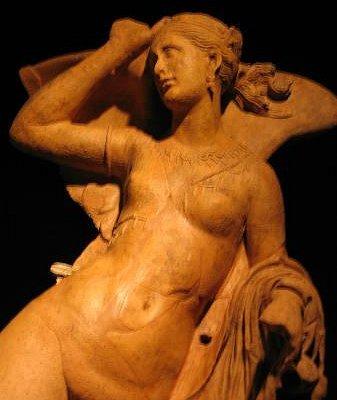 Thesan, dea dell'Aurora, Tempio Etrusco dei Fucoli, II sec. a.C.