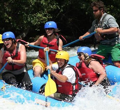 Scenic River Tours white water rafting the upper Taylor River