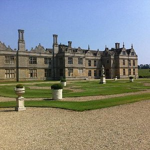 Kirby Hall view from the garden