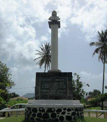 Monument de Christophe Colomb - Bust & Pedestal